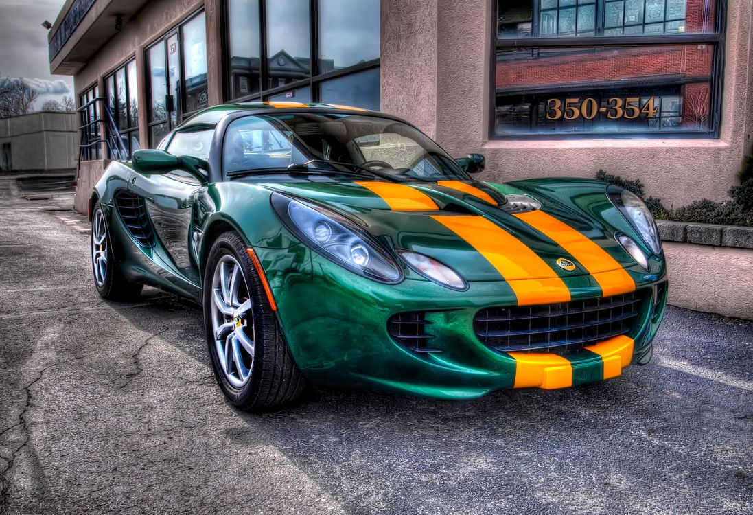 Photos for free Classic Green Lotus, Lotus Cars Limited, car - to the desktop