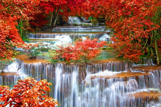 Заставки Thailand Seasons, Autumn Waterfalls, Waterfalls Kanchanaburi