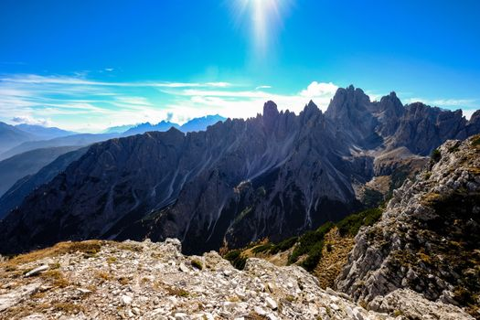 Просторы горной местности