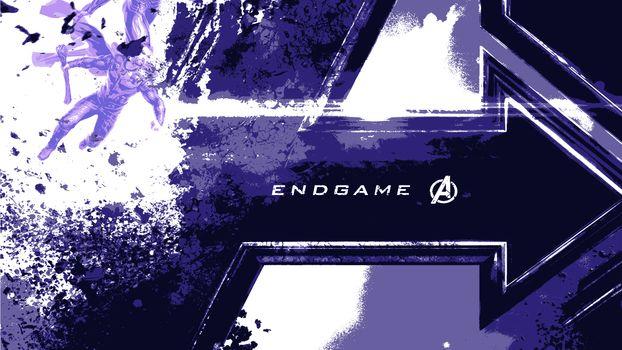 Фото бесплатно Конец Игры Мстители, Логотип, Кино