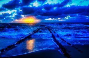 Заставки Исландия, море, океан