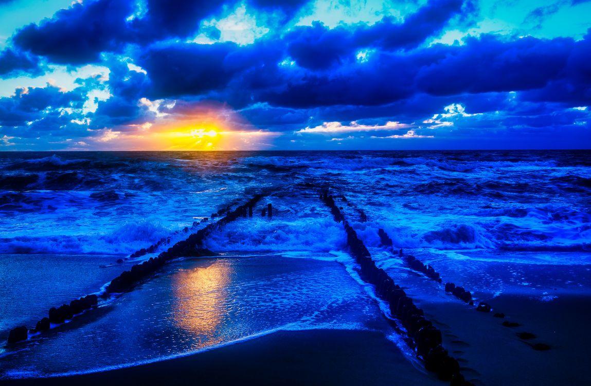 Фото бесплатно Исландия, море, океан - на рабочий стол