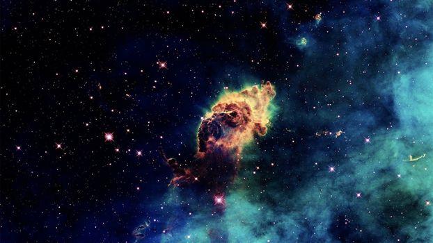 Фото бесплатно туманность, внешний, космос