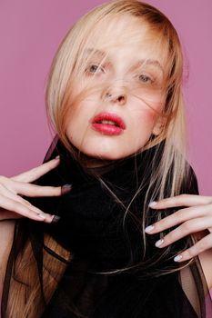 Photo free hottie, red lipstick, woman