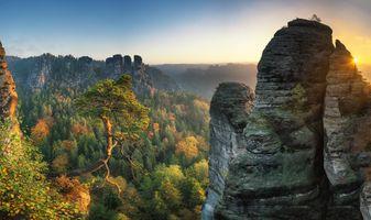 Фото бесплатно пейзаж, скала, природа