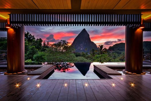 Photo free architecture, sunrises, tropical