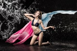 Фото бесплатно азиатские модели, соло, сексуальная девушка