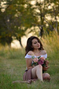 Фото бесплатно Девушка, природа, лес