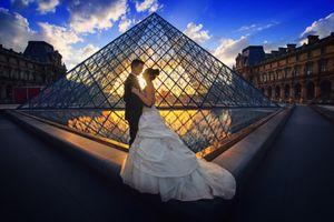 Бесплатные фото свадьба,роскошь,невеста,задний план,париж,медовый месяц,симпатичная