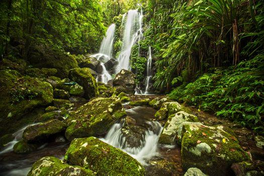 Фото бесплатно Chalahn Falls, Lamington, Australia