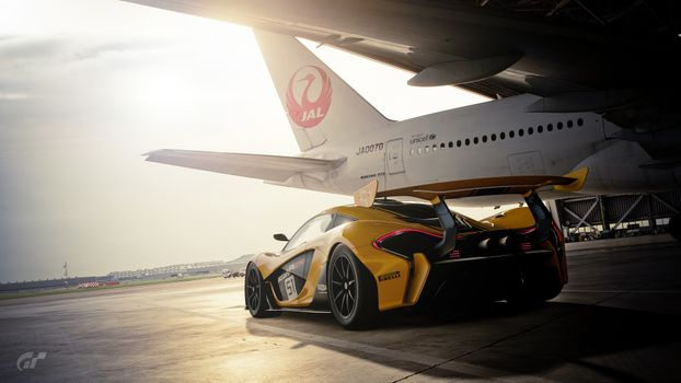 Заставки Gran Turismo Sport, игры, гонки