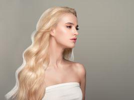 Фото бесплатно Девушки, Блондинка, длинные волосы