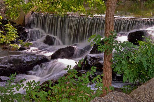 Фото бесплатно река, мелководье, пороги