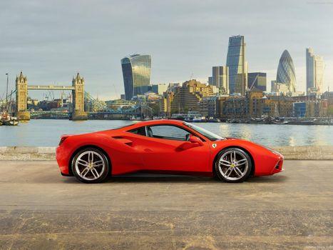 Photo free Ferrari, Ferrari 488 GTB, car