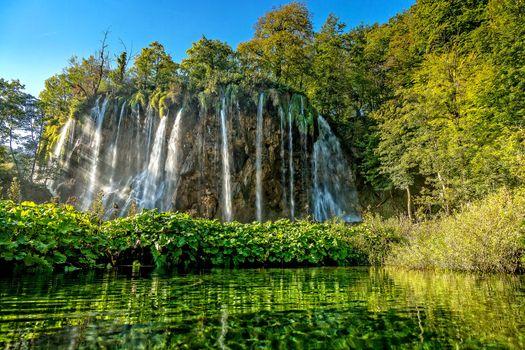Photo free Croatia, Plitvice Lakes National Park, nature