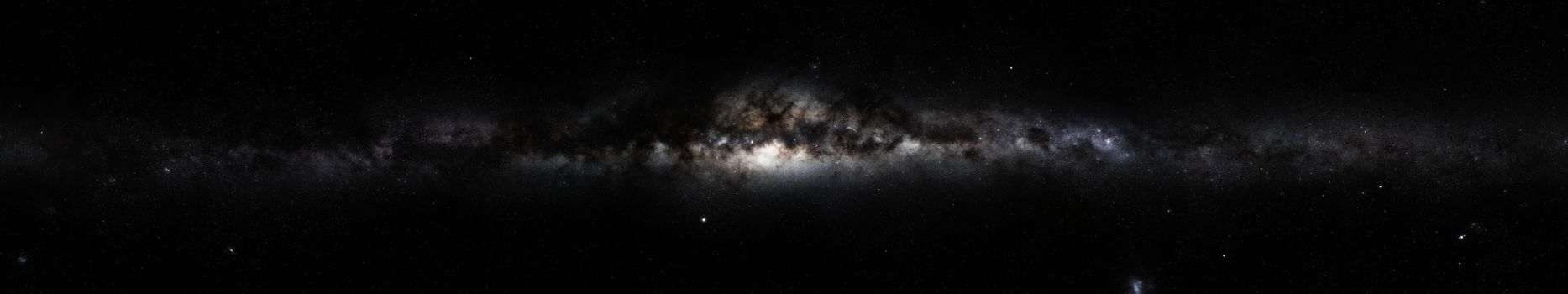 Бесплатные фото milky way,space,galaxy,triple screen