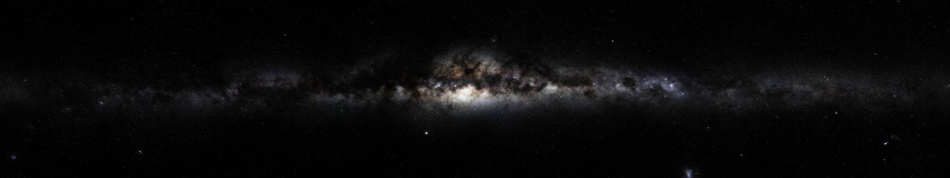 Photo free milky way, space, galaxy