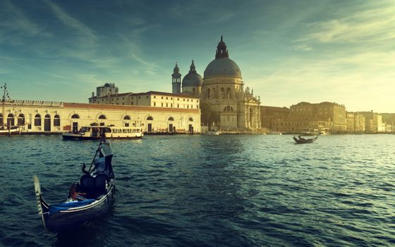 Фото бесплатно Венеция, лодка, здание