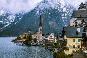 Бесплатные фото Hallstatt,часовня,Хальштатт,Гальштат,Австрия,озеро Хальштаттерзее,город