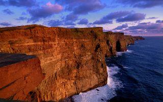 Фото бесплатно природа, облака, море