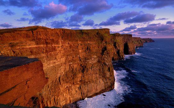 Заставки природа, скалы, море