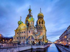 Фото бесплатно Церковь Спаса на Крови, Храм Спаса на Крови, Санкт-Петербург