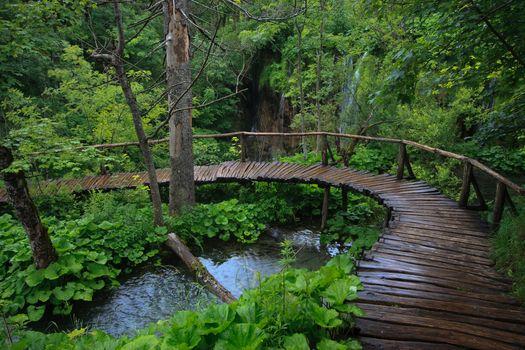 Фото бесплатно пейзаж, природа, национальный парк Плитвицкие озера