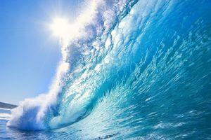 Фото бесплатно вода, волна, солнце