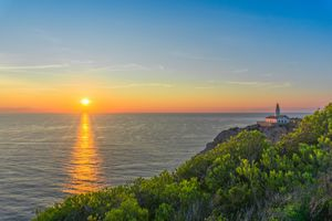 Фото бесплатно Остров Майорка, Испания закат, море