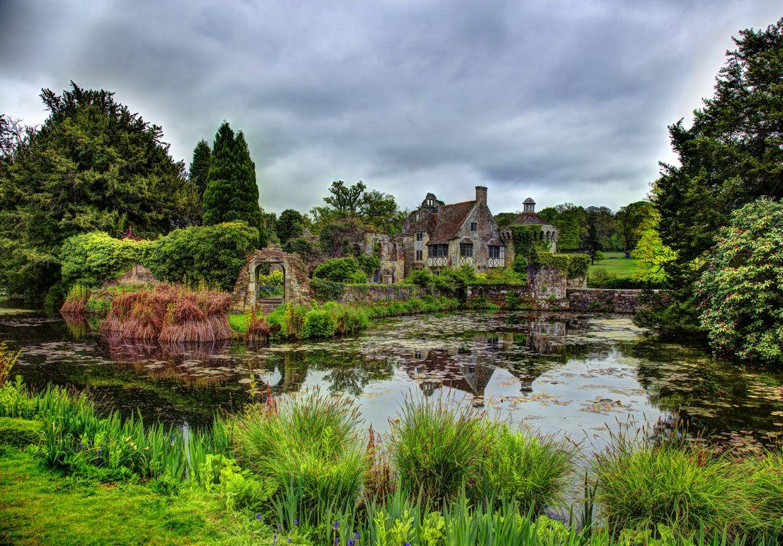 Фото бесплатно Великобритания, пейзаж, деревья - на рабочий стол