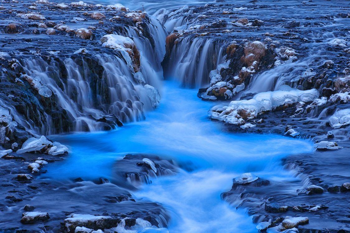 Водопад Бруарфосс · бесплатное фото