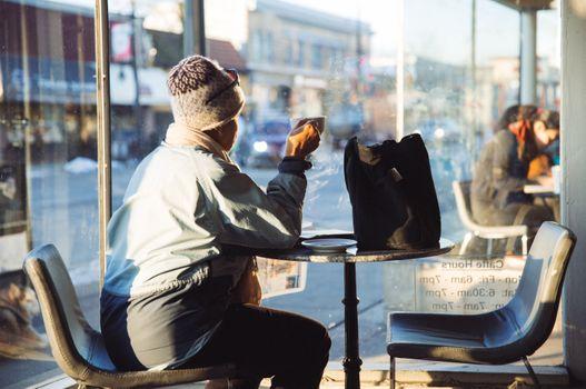 Фото бесплатно человек, кафе, кофейный магазин