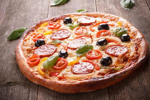 Tasty pizza · free photo