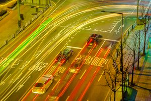 Photo free cars, city, lights