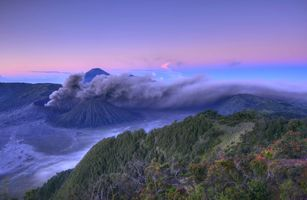 Photo free Morning at mount Bromo, East Java province, Indonesia