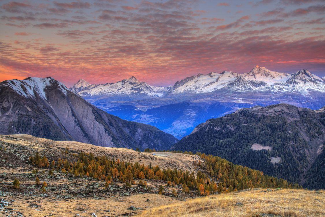 Пейзажи Швейцарии · бесплатное фото