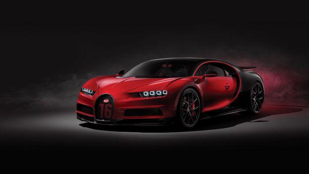 Фото бесплатно Bugatti Chiron Sport, Bugatti, суперкары