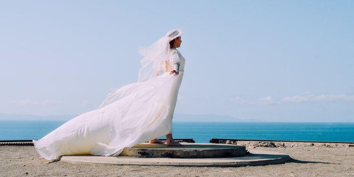 Фото бесплатно белая, платье, расстояние