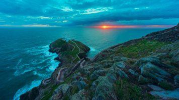 Фото бесплатно Уэльс, Объединенное Королевство, море