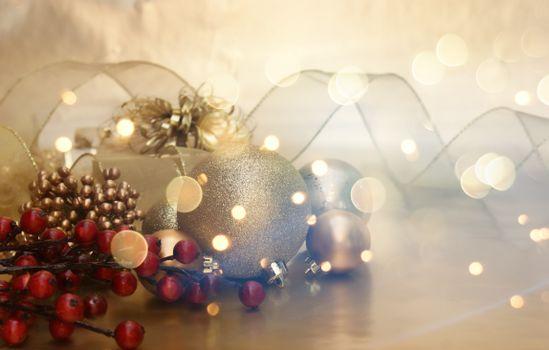 Photo free background, ribbon, gift