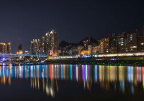 Фото бесплатно Китай, Дома, Мосты