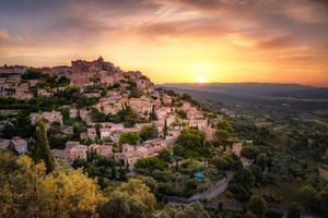 Фото бесплатно Прованс, Франция, закат