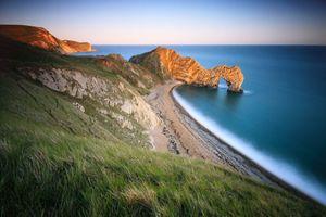 Побережье моря · бесплатное фото