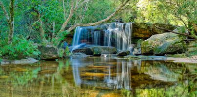 Фото бесплатно Somersby Falls, Somersby on the Central Coast, NSW