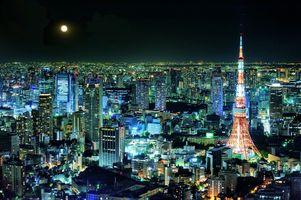 Заставки Телевизионная башня, Токио, Япония