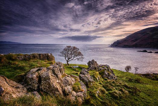 Заставки Северная Ирландия, Северное море, Isle of Jura