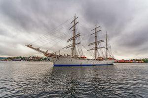 Photo free Statsraad Lehmkuhl, Ravesand, Norway