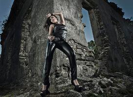 Бесплатные фото Tha s Melchior,девушка,девушки,макияж,лицо,косметика,стиль
