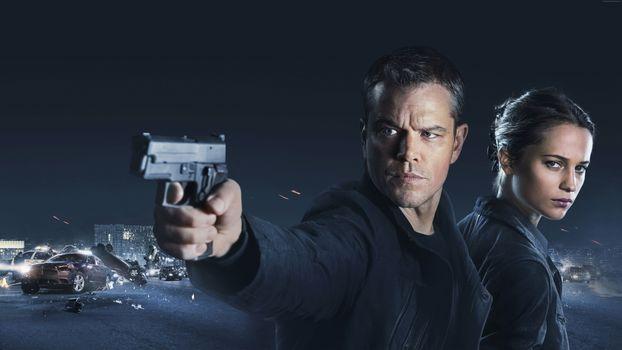 Photo free Jason Bourne in 2016 Matt Damon, Thriller, action