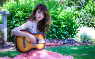 Фото бесплатно настроение, музыка, гитара